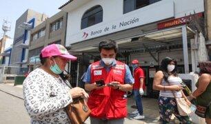 El Agustino: local del Banco de la Nación no atenderá por posible caso de coronavirus