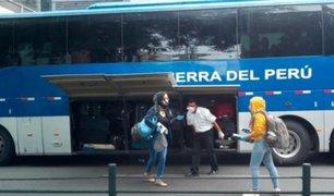 COVID-19: repatriaron a ciudadanos colombianos varados en Perú