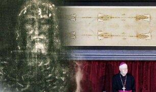 Italia: la Sábana Santa es expuesta por streaming para rezar por la pandemia del COVID-19