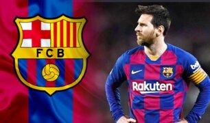 Lionel Messi cerca de poner fin a su contrato con el Barcelona
