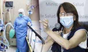 Dan de alta a primeros seis pacientes que estaban en UCI con ventilación mecánica