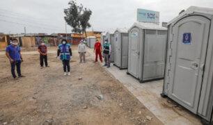 Coronavirus: Comunidad shipibo-konibo de Cangallo recibió 10 baños portátiles