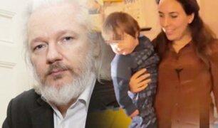 Londres: Julian Assange tuvo dos hijos con su abogada durante reclusión en la Embajada de Ecuador