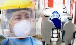 Héroes de bata blanca frente a la pandemia del coronavirus