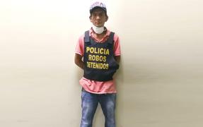 Delincuente viola cuarentena para robar licores y cigarros de conocida tienda de La Victoria