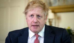 """Boris Johnson: """"el servicio nacional de salud me ha salvado la vida"""""""