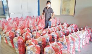 Contraloría: más de mil funcionarios y servidores públicos recibieron canastas de víveres