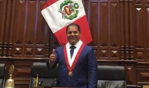 Congresista Robison Gupioc de Podemos Perú da positivo a coronavirus