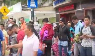 Peruanos que regresaron de Venezuela piden ayuda al Estado