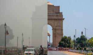 Tierra vuelve a respirar por el coronavirus: niveles de contaminación del aire disminuyen