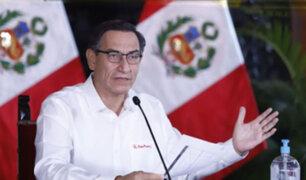 Presidente Vizcarra: Después del 27 de abril se liberará algunas actividades