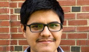 Científico de Universidad de Piura estudiará becado en Estados Unidos