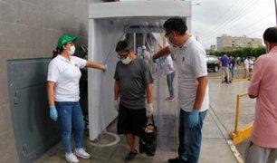 Empresario donó equipos de ozono para apoyar en desinfección a serenos de Surco, la  PNP y la FAP