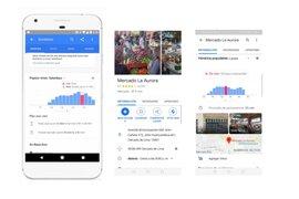 COVID-19: Google Maps recomienda horarios para ir al mercado o al banco
