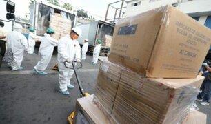 Hospital Almenara: toneladas de equipos de protección llegaron para abastecer a personal de salud