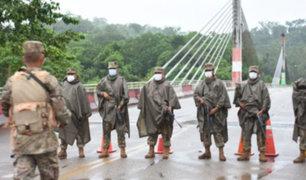 Madre de Dios: PNP y FF.AA refuerzan seguridad en frontera con Brasil