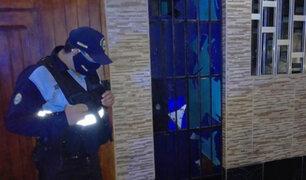 Ica: detonan artefacto explosivo en puerta de vivienda cuando familia dormía