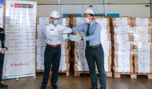 Minsa recibe donación de más de 200 mil equipos de protección personal