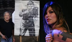 ¿Quién es el hombre que atacó a Angie Jibaja?