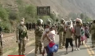 Pobladores impiden ingreso de huancavelicanos por temor a contagios