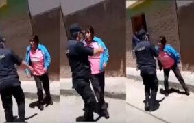 Cusco: alcalde de Quispicanchi y su esposa son intervenidos agredir a sereno