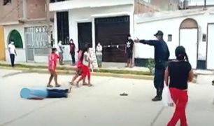 Chiclayo: hallan cuerpo de hombre tirado en plena calle