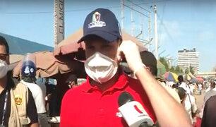 Día 31 de aislamiento: Gamarra fabricará bolsas mortuorias para fallecidos por covid-19