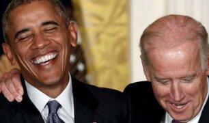 Barack Obama apoya públicamente a Joe Biden como candidato presidencial