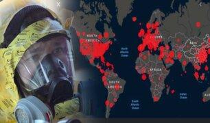 El mundo rebasa los dos millones de casos confirmados de contagios por COVID-19