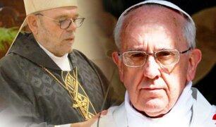 Vaticano: Papa Francisco acepta la renuncia del obispo del Callao