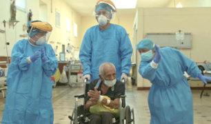 Hombre de 90 años es el primer peruano de mayor edad en vencer al coronavirus