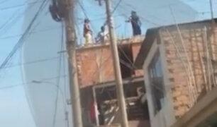 VMT: obreros son captados trabajando en vivienda durante cuarentena