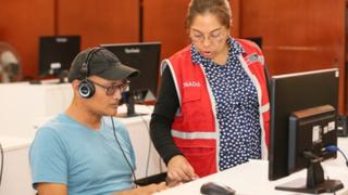 """""""Aprendo en casa"""": Conadis inició clases virtuales de 130 alumnos con discapacidad"""