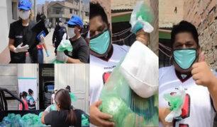 Municipalidad de Lima entrega canastas a artistas de la calle durante cuarentena