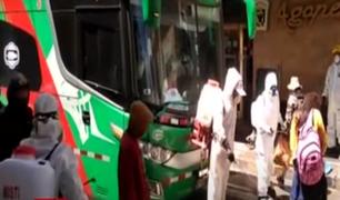 Llegan a Huancayo las primeras 200 personas varadas en Lima