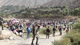 Casi 50 personas varadas en Huarochirí dieron positivo a prueba de Covid-19