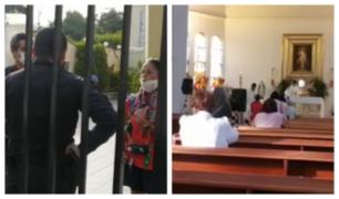 Surco: vecinos celebraban misas pese al aislamiento social