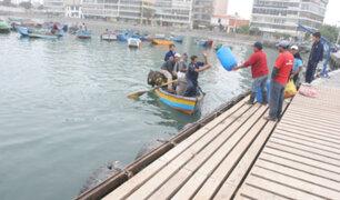 Ancón: clausuran temporalmente el muelle Molo y postergan actividad pesquera