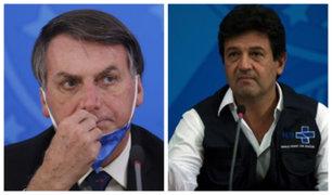 Brasil: Bolsonaro destituye a ministro de Salud en medio de pandemia por coronavirus