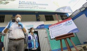 Jorge Muñoz inauguró albergue temporal para mujeres víctimas de violencia