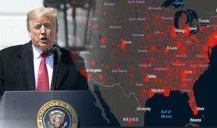 Donald Trump presenta un plan para reanudar la actividad en EEUU en junio