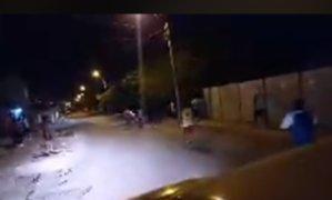 Policías capturan a venezolanos que intentaron robar mercado en Chincha