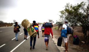 Piura: denuncian que estarían cruzando desde Ecuador por quebradas y trochas de Sullana