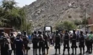 Fuerzas Armadas impide que cajamarquinos ingresen a su región