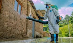 Covid-19: realizan campañas de desinfección de calles y mercados en Apurímac