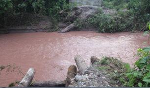 Pasco: pueblos y comunidades nativas quedaron aislados tras caída de puente