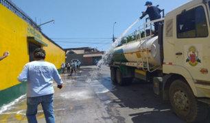 Callao: intensifican desinfección y fumigación de calles y mercados