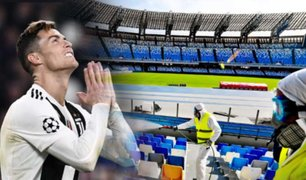Italia estudia un plan para reanudar el fútbol este año
