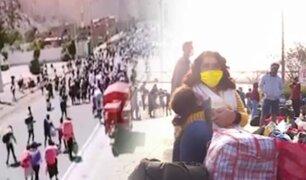 Un éxodo sin precedente en medio de la pandemia