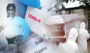 Perú rechazó la compra de 500 mil pruebas moleculares para detectar coronavirus
